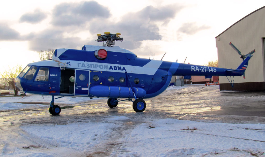 Вертодром «Пески» Томского филиала ООО «Авиапредприятие «Газпром авиа»