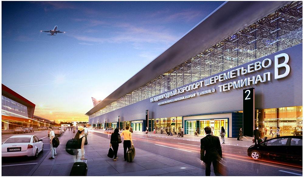 Объект поставки – международный аэропорт Шереметьево