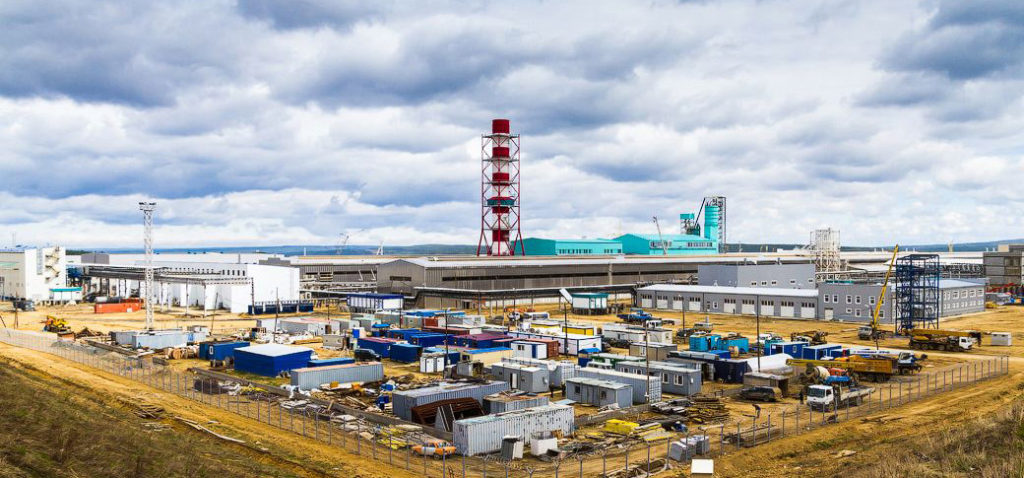 Богучанский алюминиевый завод 1024